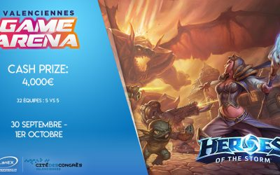 Heroes of the Storm à la Valenciennes Game Arena