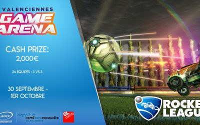 Rocket League arrive à 200km/h pour la Valenciennes Game Arena